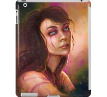 Shaman girl digital fantasy portrait iPad Case/Skin