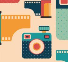 Film Rolls and Cameras Sticker