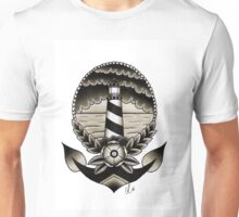 Traditional Lighthouse  Unisex T-Shirt