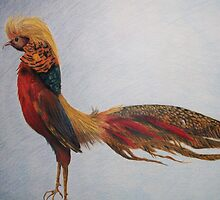 The Golden Pheasant by trand07