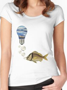 Being something else (Fish) Women's Fitted Scoop T-Shirt