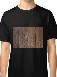 Frost on Shed Door Classic T-Shirt
