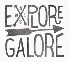 Explore Galore Kids Tee
