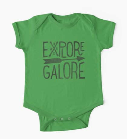 Explore Galore One Piece - Short Sleeve