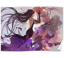Puella Magi Madoka Magica - Madoka & Homura Poster