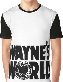 Wayne's World (Inverted) Graphic T-Shirt
