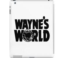 Wayne's World (Inverted) iPad Case/Skin