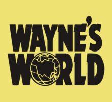 Wayne's World (Inverted) One Piece - Short Sleeve