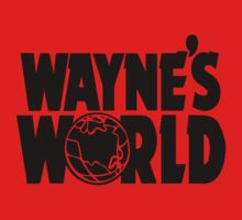 Wayne's World (Inverted) Baby Tee