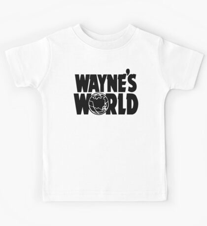 Wayne's World (Inverted) Kids Tee