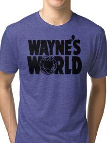 Wayne's World (Inverted) Tri-blend T-Shirt