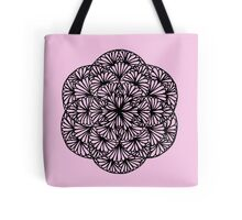 Flowery seed of life, pale pink - One Mandala A Day Tote Bag
