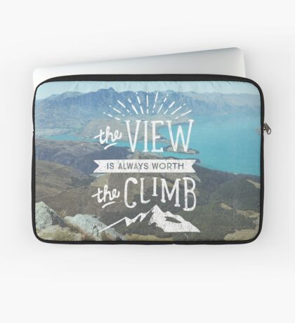 WORTH THE CLIMB Laptop Sleeve