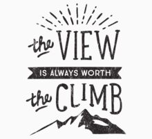 WORTH THE CLIMB Kids Tee