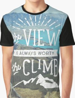 WORTH THE CLIMB Graphic T-Shirt