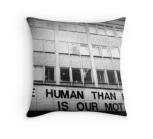 More Human Than Human Throw Pillow