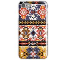 Colorful ethnic pattern design iPhone Case/Skin