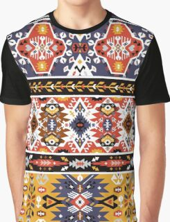 Colorful ethnic pattern design Graphic T-Shirt
