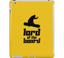 Lord of the Board iPad Case/Skin