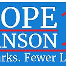 Vote Knope Swanson 2016 by illuminatim