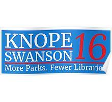 Vote Knope Swanson 2016 Poster