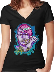 snot Women's Fitted V-Neck T-Shirt