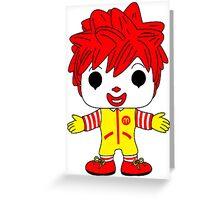 Ronald Greeting Card