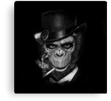 Gentleman Ape Canvas Print