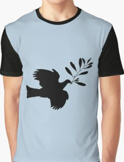Peace Dove Graphic T-Shirt