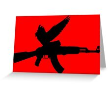 War Dove Greeting Card