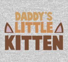 Daddy's little kitten Kids Tee