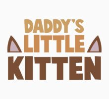 Daddy's little kitten One Piece - Short Sleeve