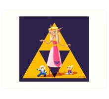Princess Zelda Art Print