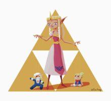 Princess Zelda One Piece - Short Sleeve