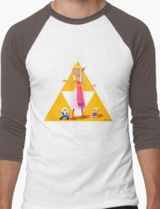 Princess Zelda Men's Baseball ¾ T-Shirt