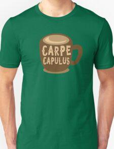 CARPE CAPULUS (Seize the COFFEE) Unisex T-Shirt