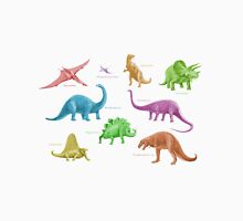Dinosaur Montage - multicoloured Unisex T-Shirt