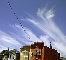 Cirrus clouds in San Francisco by Ms. Muse
