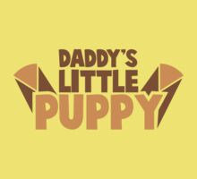 Daddy's little PUPPY Kids Tee