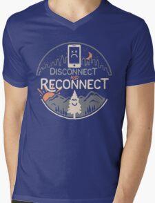 Reconnect Mens V-Neck T-Shirt