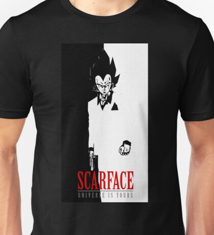 VEGETA SCARFACE Unisex T-Shirt