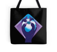 Purple Talon hand with a white silver ORB Tote Bag