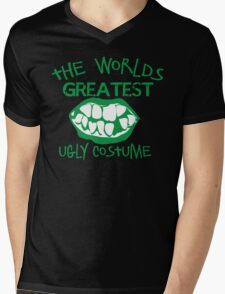The worlds greatest UGLY costume for HALLOWEEN Mens V-Neck T-Shirt
