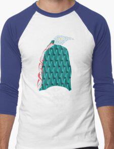 Abstract Penguin Men's Baseball ¾ T-Shirt