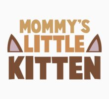 Mommy's little kitten Baby Tee