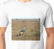 Grey Crowned Crane on the Masai Mara Unisex T-Shirt