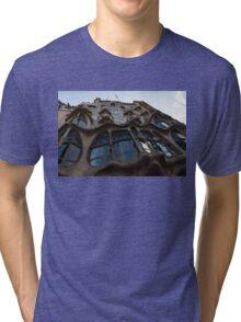 House of Bones - Antoni Gaudi's Casa Batllo in Barcelona, Spain Tri-blend T-Shirt