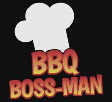 BBQ Boss man Barbecue chef One Piece - Short Sleeve