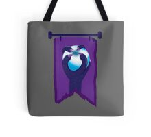 BANNER CREST SIGIL Purple claws grasping a white opal blue orb Tote Bag
