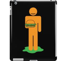 BURGER MAN iPad Case/Skin